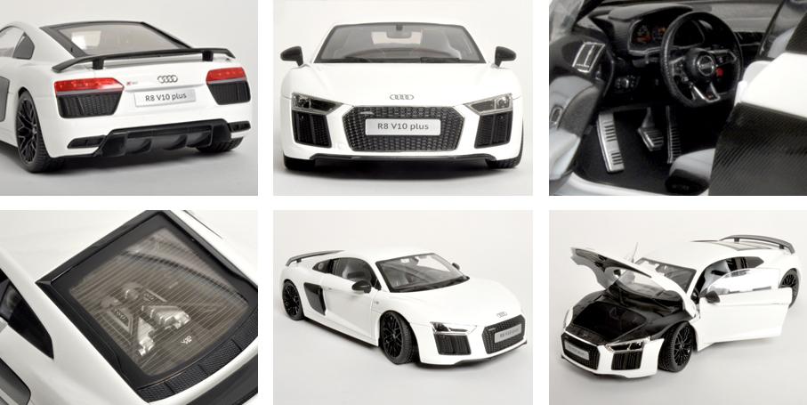 Maisto Audi R8 V10 Plus