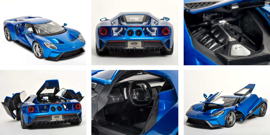 Ford Gt Exclusive Features